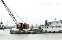 單斗式挖泥船挖沙機
