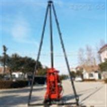 50米勘探岩心钻机 小型水井打井设备 立式