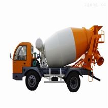 4方混凝土搅拌运输车  建筑农用搅拌车报价