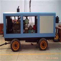 柴油動力風冷移動活塞式空氣壓縮機