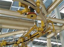 H型钢轨道摩擦输送机