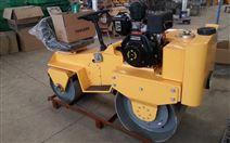 一吨座驾式双钢轮压路机 机械传动
