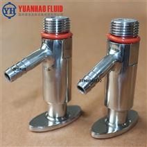 不锈钢皮管式液体T型取样阀