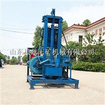 柴油动力小型水井钻机 液压升降钻井机械