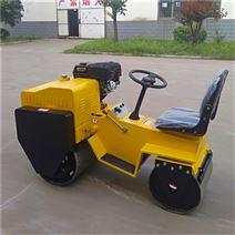 座駕式雙鋼輪壓路機 小型壓土機廠家