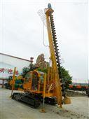 功率强大恒旺HZY-800L履带式长螺旋打桩机