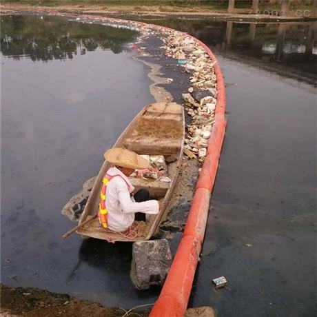 揭阳水库拦垃圾浮体拦污塑料浮筒拦污浮筒