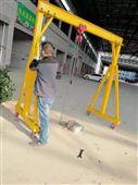 立柱升降式小型龍門架訂制-電動行走龍門吊