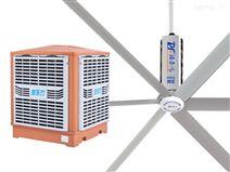 高大空間的通風降溫方法--扇機組合
