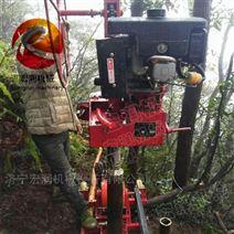 直销小型内燃式背包钻机 便携式取样钻机