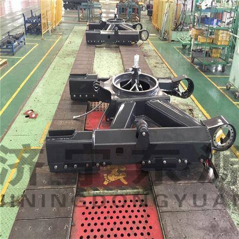 徐州东源机械挖掘机结构件 PC220伸缩下车架