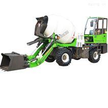 供應2.4立方自上料水泥攪拌運輸車廠家