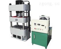 1000吨复合材料四柱液压机