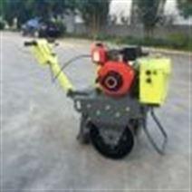 廠家直營手扶單輪小型壓路機 名牌發動機