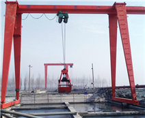 MHZ型抓斗電動葫蘆門式起重機(龍門吊)