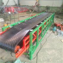 水平伸縮輸送機 集裝箱伸縮裝車傳送帶