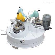 三頭研磨機小型瑪瑙粉碎機愛實驗室細磨設備