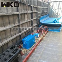 江西廠家出售鼓動溜槽 選礦淘金蠕動設備