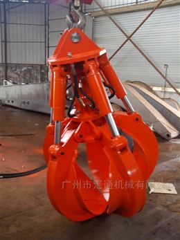 厂家定制工程机械配件抓斗 钩机液压抓钳器