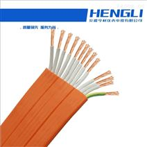 ZR-KFGRB高压扁电缆50mm2硅橡胶护套软芯