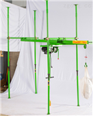 四柱直滑式吊運機室內裝修小吊機