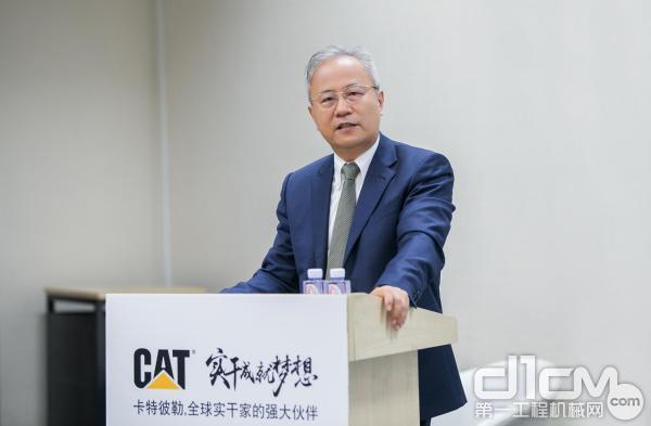 卡特彼勒最新智能设备和服务在北京亮相